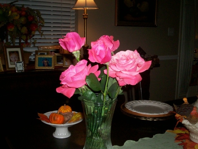 From October 2009 Flush Of Bloom - The Rose my mom helped me save....